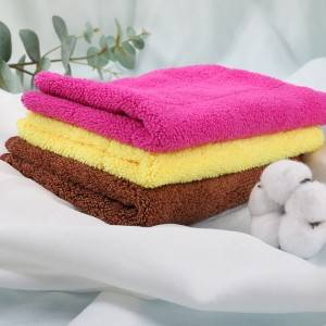 2021 China New Design Cellulose Sponge Cloth - Microfiber Rags – JUAN JUAN