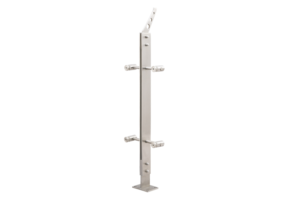 Cheap price Stainless Steel Balcony Handrail - Stainless steel railing post OEM manufacturer – Jkl