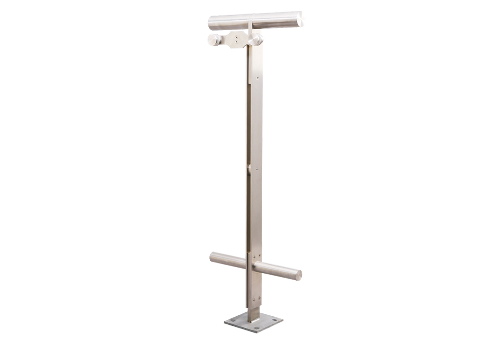 Stainless Steel Marine Handrail - SB-1610 Stainless Steel T-type Post  – Jkl