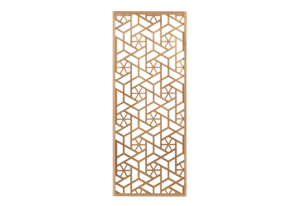 China wholesale Metal Wall Divider - Room divider metal decorative screen panel stainless steel modern fashion living room furniture room divider – Jkl