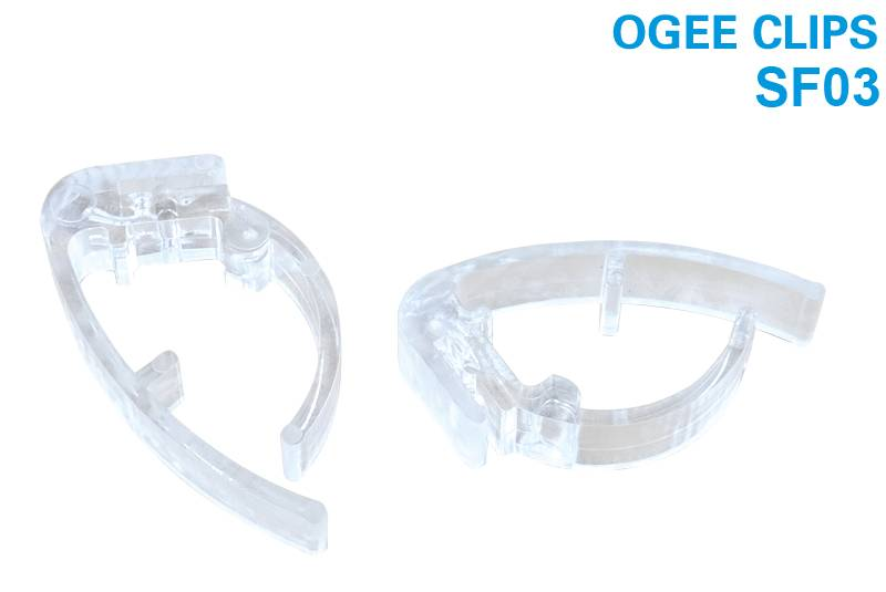 Newly Arrival Heavy Gauge Bird Netting - Ogee Clip SF03 – Jinglong
