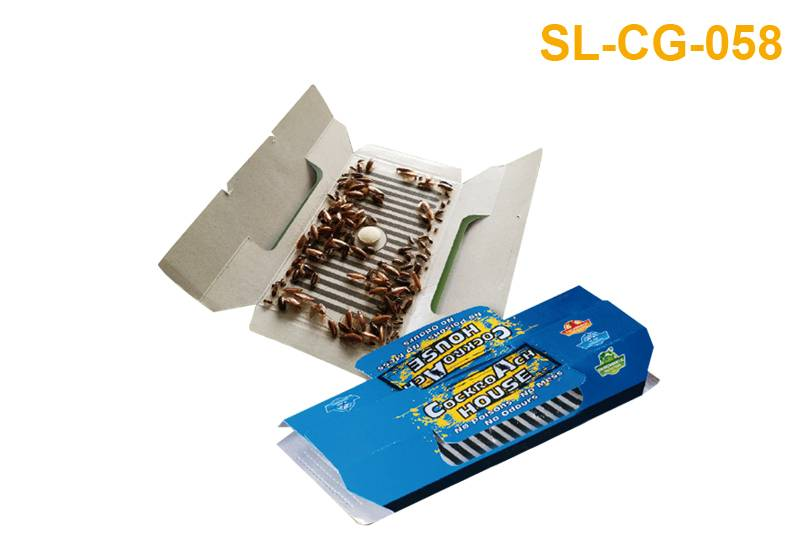 Reliable Supplier Glue Board Fly Traps - Cockroach Glue Trap-Baited SL-CG-058 – Jinglong