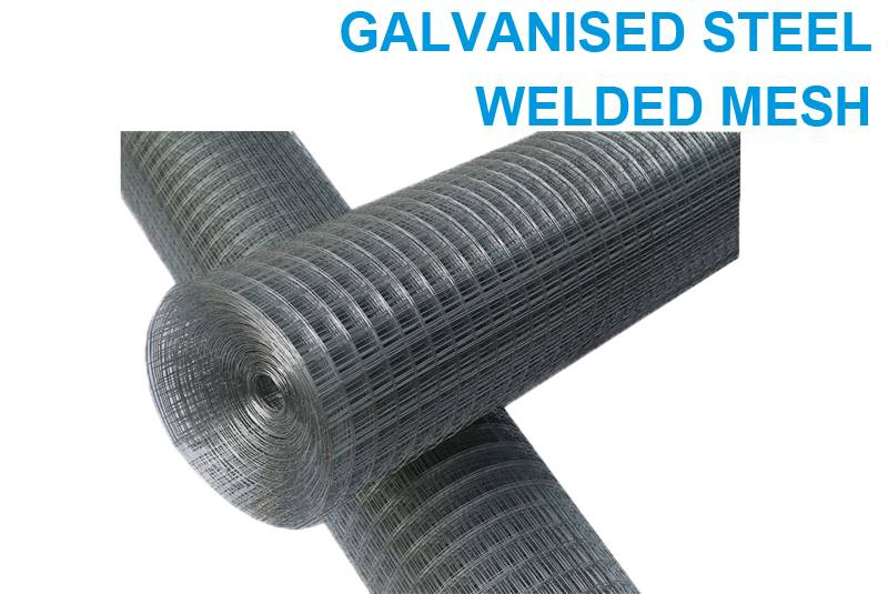 Galvanised Steel Welded Mesh