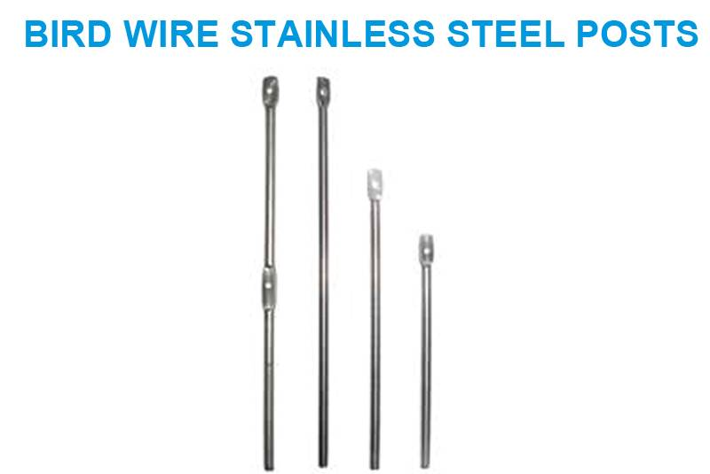 Bird wire Stainless Steel Posts