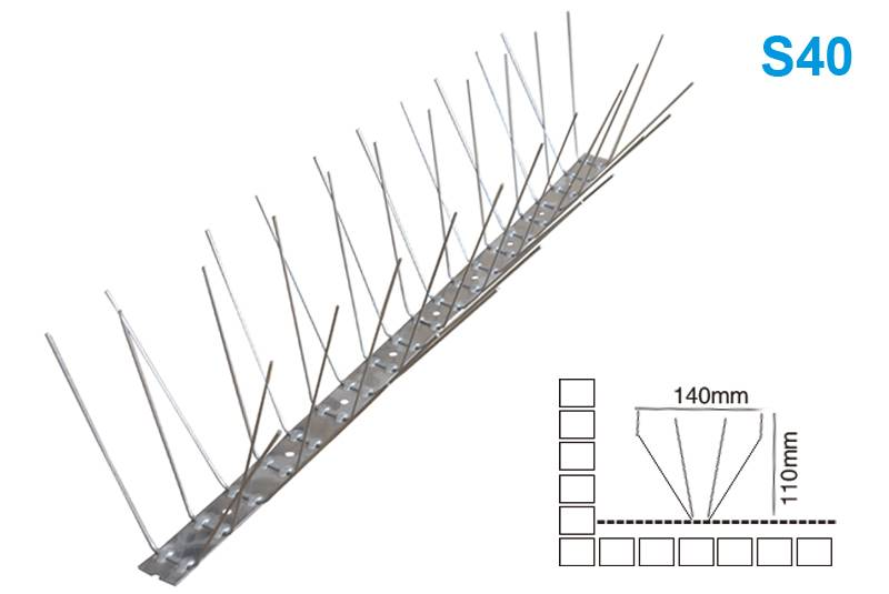 Factory Outlets Pigeon Wire Spikes - Bird Spike S40 – Jinglong