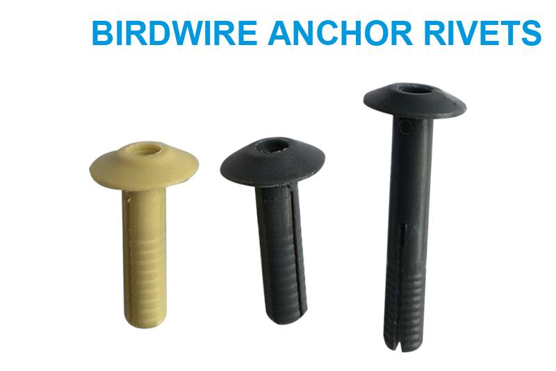 Birdwire Anchor Rivets