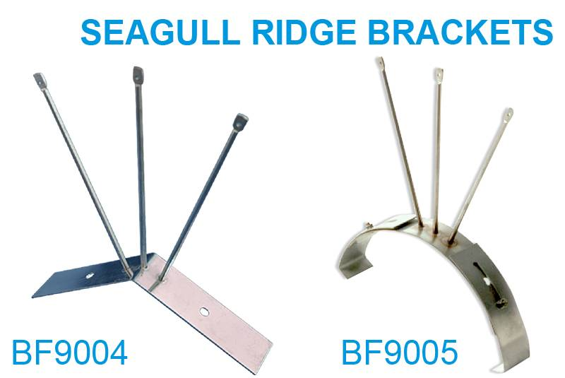Newly Arrival Bird Roosting Deterrent - Seagull Ridge Brackets – Jinglong