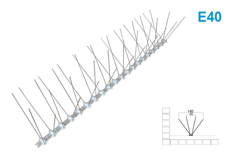Discount Price Chimney Bird Spikes - Bird Spike E40 – Jinglong