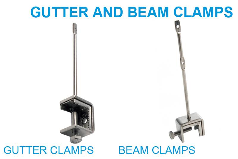Gutter and Beam Clamps