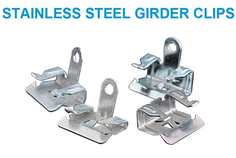 Factory Free sample Heavy Bird Netting - Stainless Steel Girder Clips – Jinglong