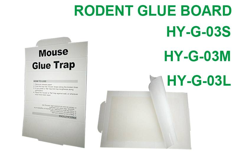 Ordinary Discount Redneck Mouse Trap - Rodent Glue Board HY-G-03S HY-G-03M HY-G-03L – Jinglong