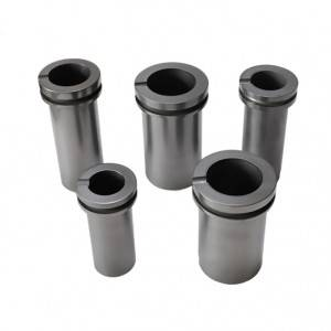 Factory For Graphite Seals - Two-ring high purity graphite crucible for melting precious metalsTwo-ring high purity graphite crucible for melting precious metals – Jinglong
