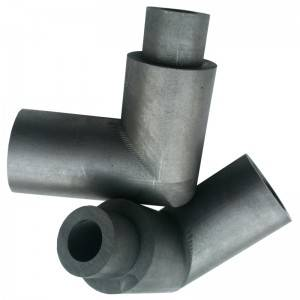 Graphite mold for continuous casting of nonferrous metals