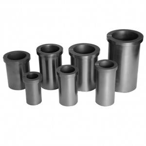 OEM China High Purity Graphite Boat With Lids - One-ring high purity graphite crucible for melting precious metals – Jinglong