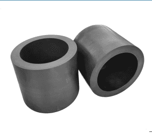 Graphite crucible for aluminized film production