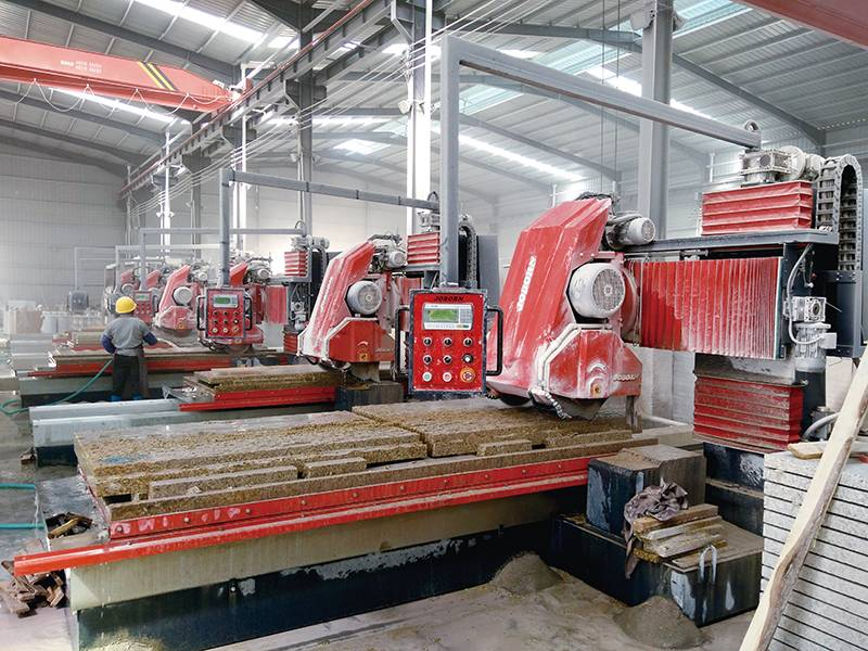 OEM/ODM Manufacturer Granite Block Cutting Machine - Automatic profiling machine – Joborn detail pictures