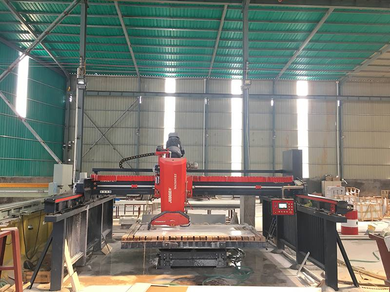 Factory Price Cnc Granite Cutting Machine - Tiltable Bridge Cutting Machine – Joborn detail pictures