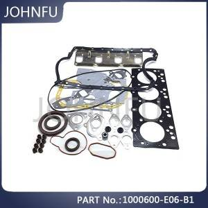 Original 1000600-E06 Great Wall Spare Parts Gw2.8tc Engine Overhaul Kit