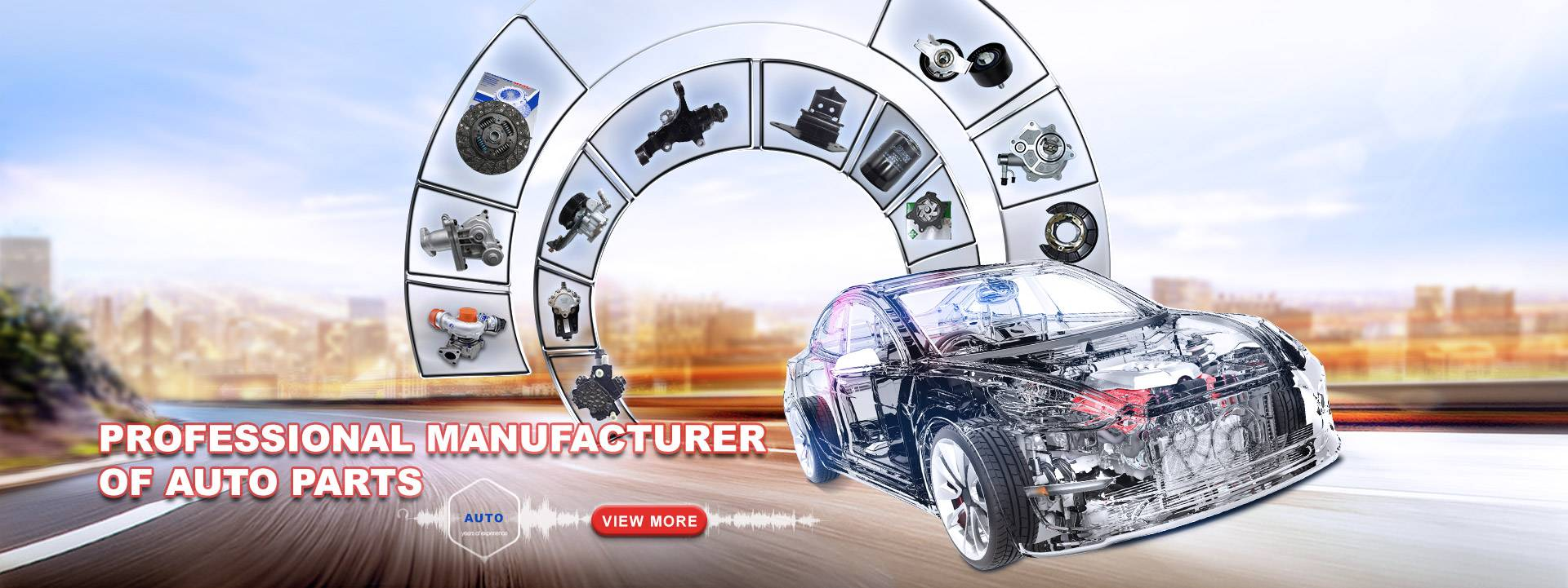 Professional manufacturer of auto parts