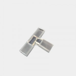 T shape connector for high power AC220V led strip light