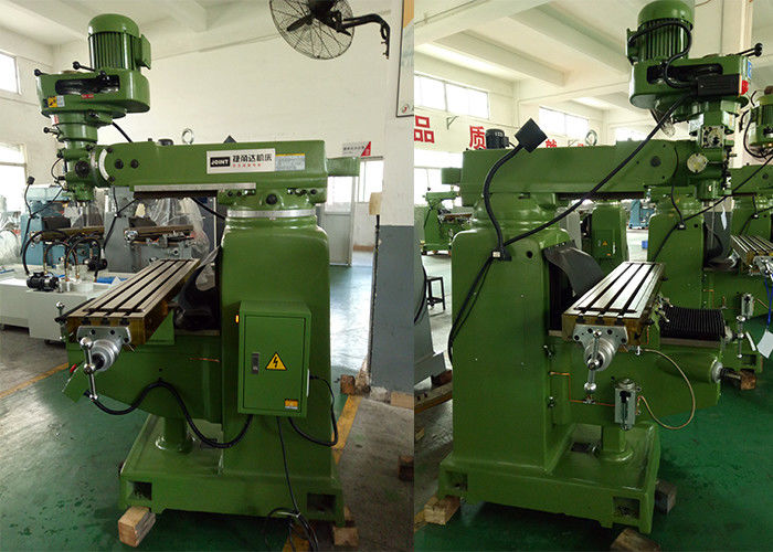 3HP/R8(NT30) Taiwan parts step speed Vertical Turret Milling Machine , 1270*254mm table