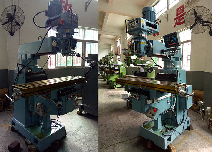Precious Heavy Duty Vertical Milling Machine 160 * 1850 * 2400mm Diemnsion