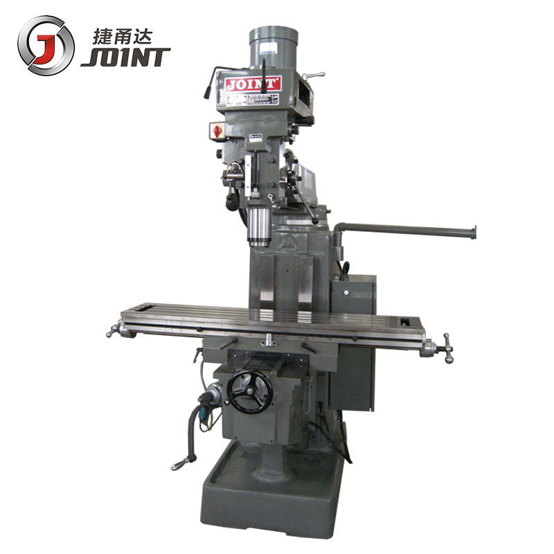 NT40 Horizontal Turret Milling Machine Knee Milling 5VB And 1470*305*90mm Table Size