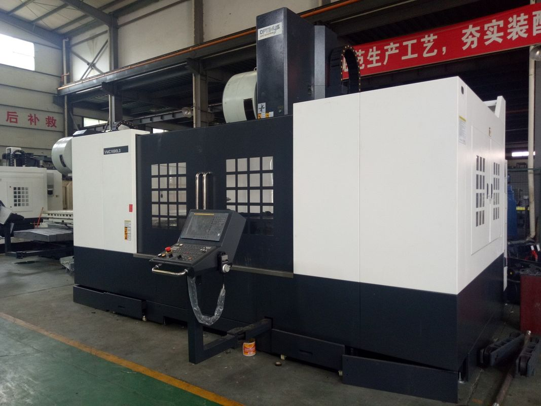 High Efficiency 3 Axis Milling Machine For Small / Medium Metal Parts Processing