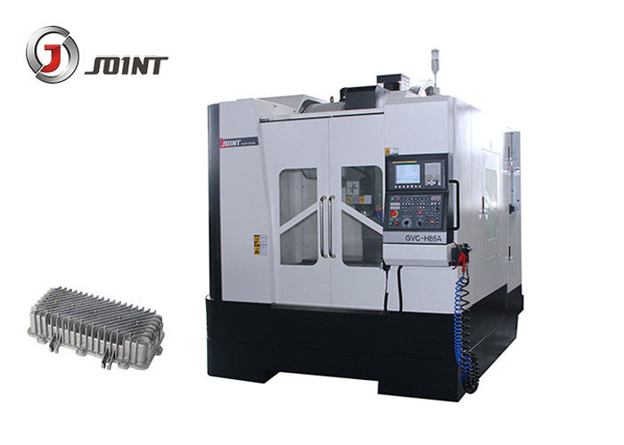 Fully Enclosed Cover Vertical CNC Machine H86A 5500 Kilograms High Efficiency