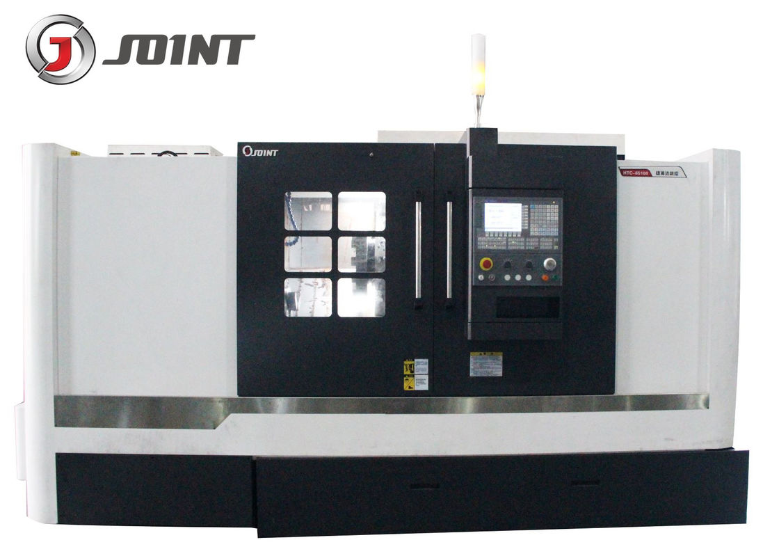 Horizontal Slant Bed CNC Lathe Machine HTC-65100 1000mm Max Length Of Workpiece