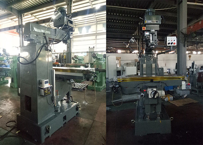 3 Axis Turret Milling Machine , 690mm Max Distance Turret Head Milling Machine