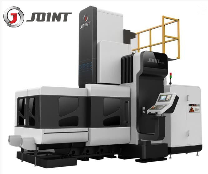 30KW Spindle Motor 3 Axis Vertical Machining Center Gantry Double Column BTMC-2503