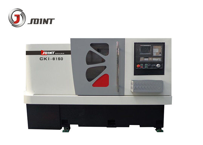 New Arrival China Knd Cnc Lathe - 250mm Chuck Flat Bed CNC Lathe Machine , High Speed Computer Controlled Lathe – Joint