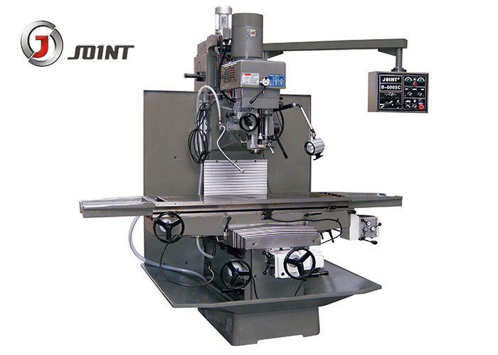 NT40 / 5HP Spindle Turret Head Milling Machine Universal Bed Type Turret RAM Knee Milling Machine