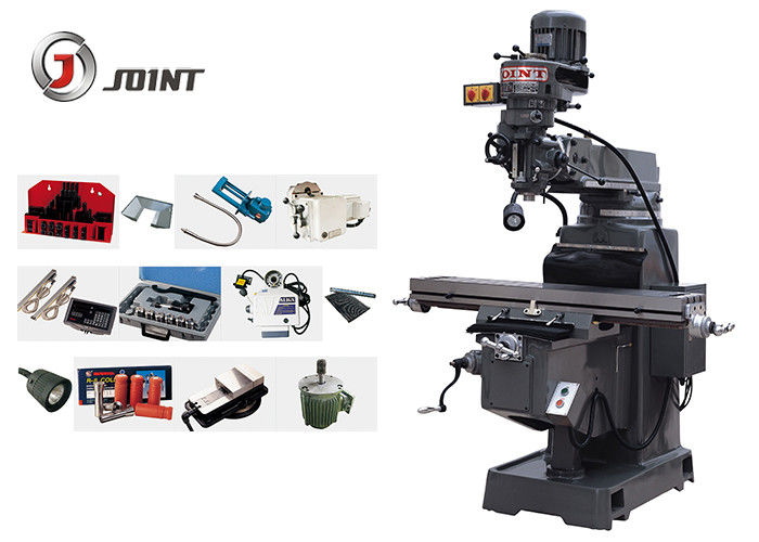 Good quality Taiwan Turret Milling Machine - Step Speed Head Bridgeport Vertical Milling Machine 70 – 3600rpm Rotation Speed – Joint