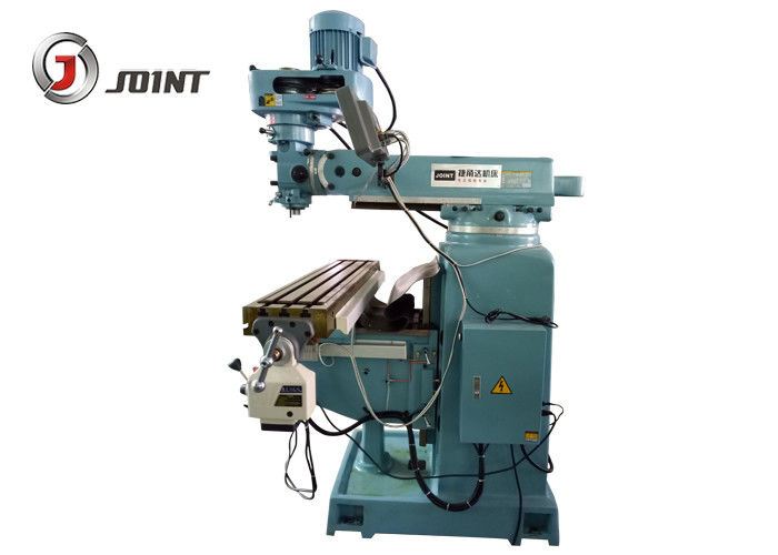 50 Inch Table Size Bridgeport Vertical Milling Machine 127mm Spindle Quill Travel