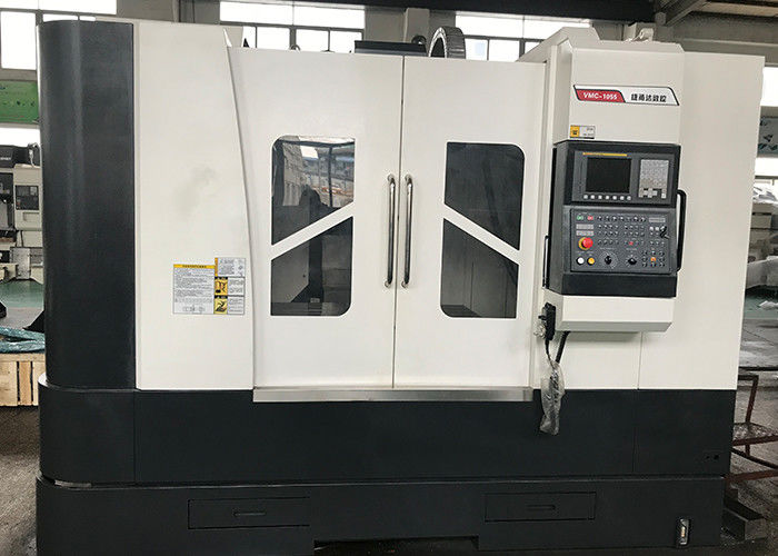 Heavy Duty Belt Connection CNC Vertical Milling Center 600KG Max Load Universal