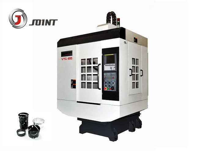 Metal Cutting CNC Drilling And Tapping Machine , 3.7kw Spindle Motor Cnc Lathe Machine