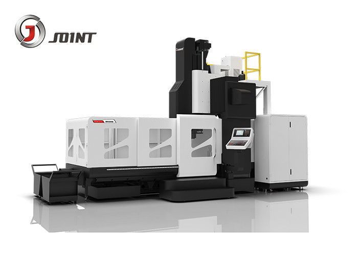 Heavy Duty Double Column CNC Milling Machines , Gantry Type CNC Machine Center BTMC-1225