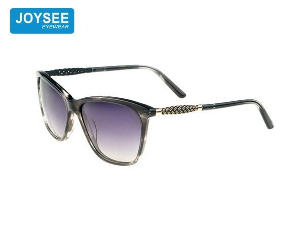 Joysee 2021 handmade acetate frame fiber with exquisite metal legs fashionable sunglasses high quality glasses