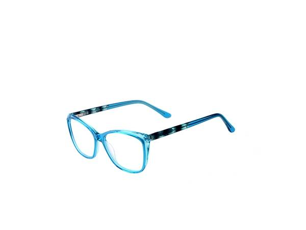 Joysee 2021 17384 Good price acetae eyeglass frame, latest trendy optical spectacles frame