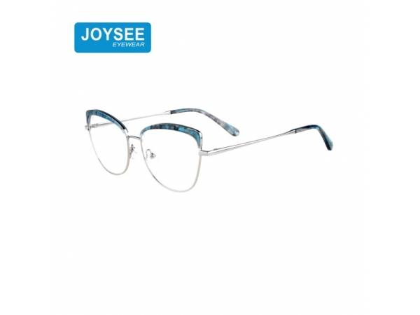 2021 9498 Joysee New Collection January Metal Optical Frame Cat Eye Glasses By Women Manufacturer