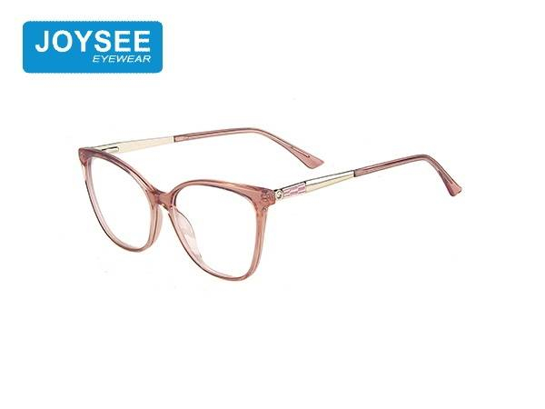 Joysee 2021 J51EP19016 the latest hand-made fashion frame with diamond metal leg glasses
