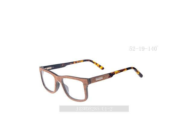 Joysee 2021 Handmade natural wood optical frame eyewear glasses high quality wooden eyeglasses