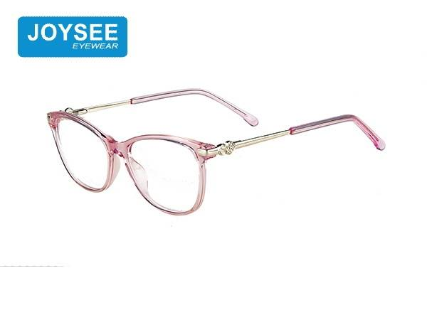 Joysee 2021 J51EP19019 the latest hand-made fashion frame with exquisite diamond metal leg glasses