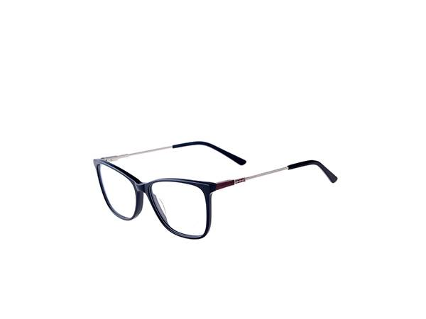 17422 Wholesale metal temple optical frames, trend new spectacle acetate frames