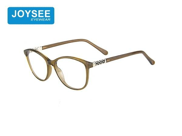 Joysee 2021 J51EP19020 the latest hand-made fashion frame with exquisite metal leg glasses for women