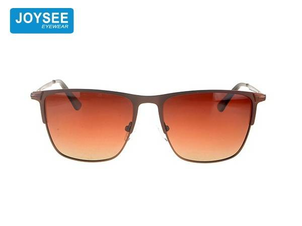 Joysee 2021 classic fashion metal glasses high quality design exquisite men's Sunglasses