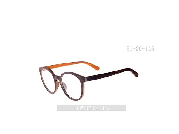 Joysee 2021 New Designed Retro Wood Eyeglasses Frames Handsome Eyewear Frames