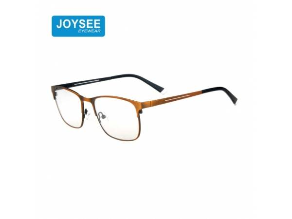 Joysee 2021 9511 New Collection Eyeglasses Square Metal Optical Frames For Man Quality Eyewear